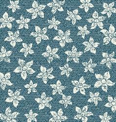 Natural clean denim texture vector image