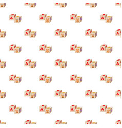 Baby cubes pattern vector