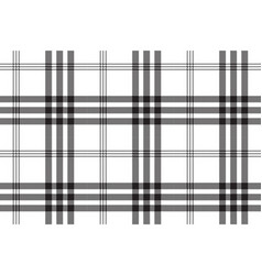 Black white check pixel square fabric texture vector