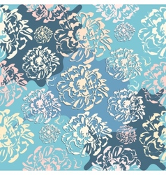 Cute abstract floral seamless pattern vector image vector image