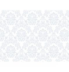 Floral ornament damask pattern vector image vector image