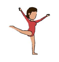 Gymnast vector