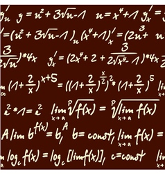 Science mathematics pattern vector