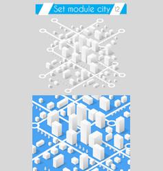 Set for design 3d vector