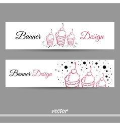 SweetsBanners vector image