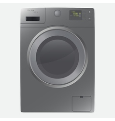 A realistic washing machine vector
