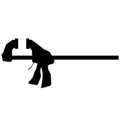Quick release bar clamp vector