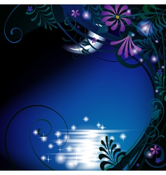 Night background vector