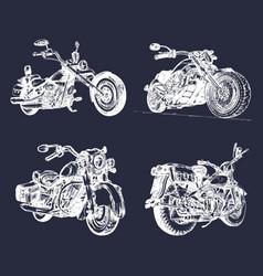 hand sketched vintage vector image