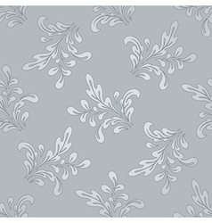 Floral swirls pattern vector image