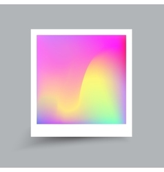 Fluid colors Modern hipster style card Applicable vector image