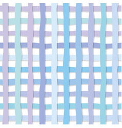 hand drawn plaid seamless pattern background in vector image vector image