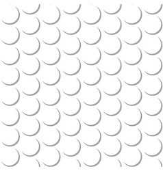 Abstract Round Circle Seamless Pattern Background vector image vector image