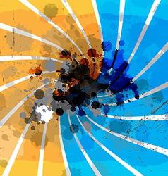 art grunge background design vector image