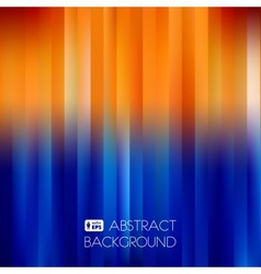 Blue-orange abstract striped background vector