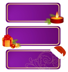 christmas tablets vector image vector image