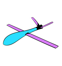 glider icon icon cartoon vector image