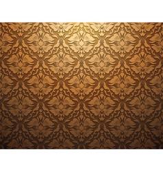 vintage floral seamless pattern vector image vector image