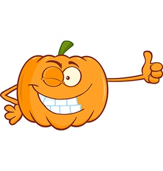 Cartoon pumpkin vector