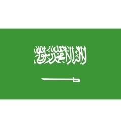 Saudi Arabia flag image vector image