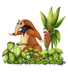 A wild animal vector image