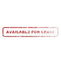 Available for lease rubber stamp vector