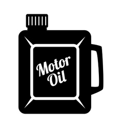 Motor oil can icon vector image vector image