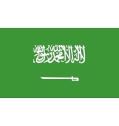 Saudi arabia flag image vector