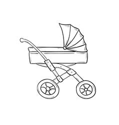 Stroller vector