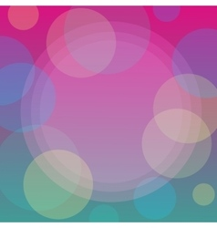 Abstract pattern background with bubbles vector