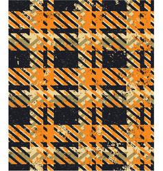 Grunge tartan fabric plaid wallpaper vector