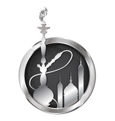 hookah symbol for a vector image vector image