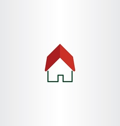 House logo real estate symbol element vector