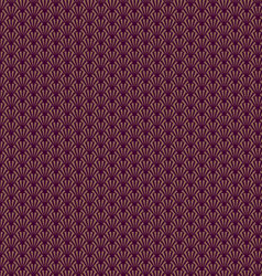 Japanese seamless patterns vector image vector image