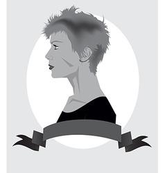 Trendy Girl vector image vector image
