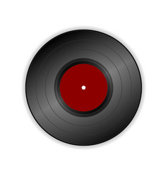 vinyl record icon vector image