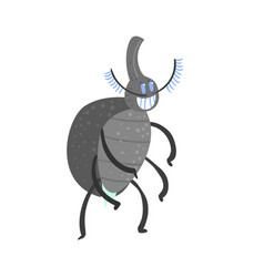 cute cartoon insect character vector image