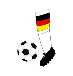 foot football player vector image