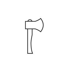 Ax online icon vector