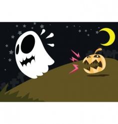 cartoons Halloween vector image vector image