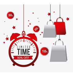 Hot price shopping design vector image vector image