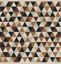 Triangle pattern with retro and fashion concept vector