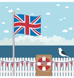 Great britain coast vector