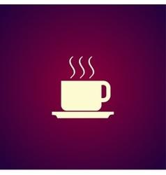 coffe Flat design style vector image