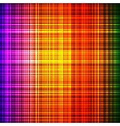 Colorful shiny colorful checked background vector image