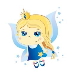 Cute fairy vector