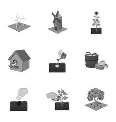 farm ecology vitaminsand other web icon in vector image