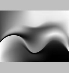 Modern blurred wave background vector