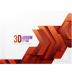 Techno arrow background vector