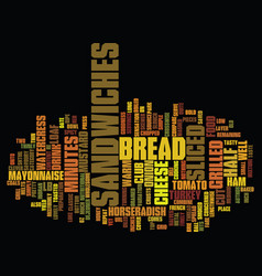 Grilled club sandwiches text background word vector